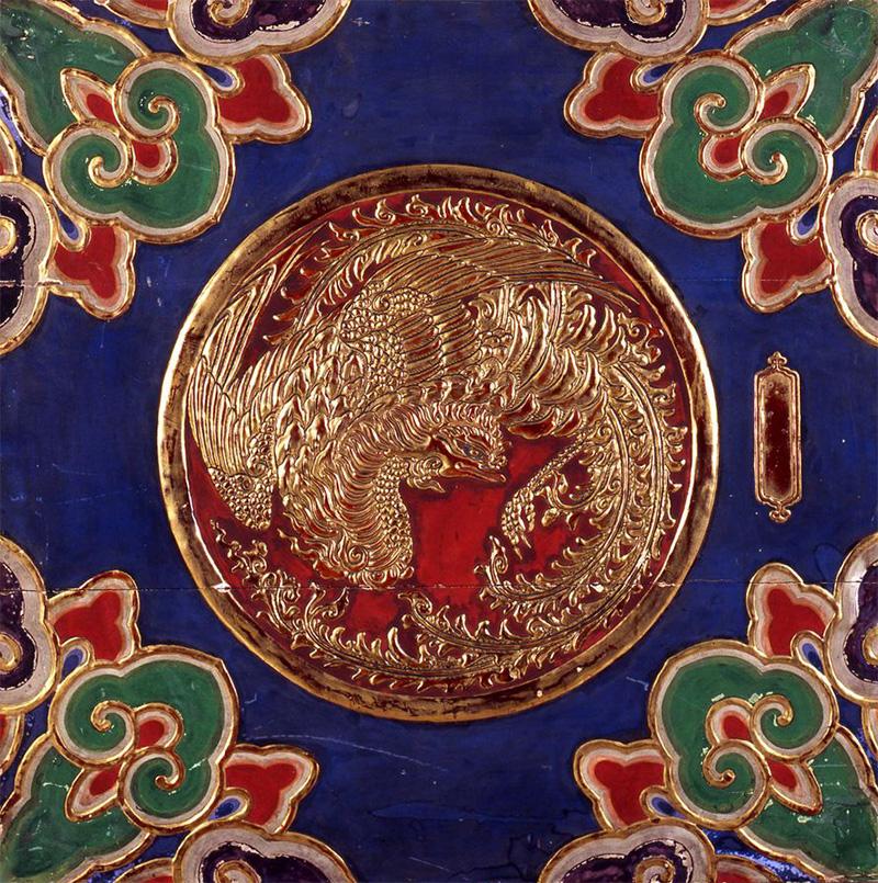 徳川家霊廟天井板