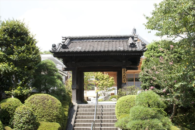 増上寺圓光大師堂(旧景光殿)表門