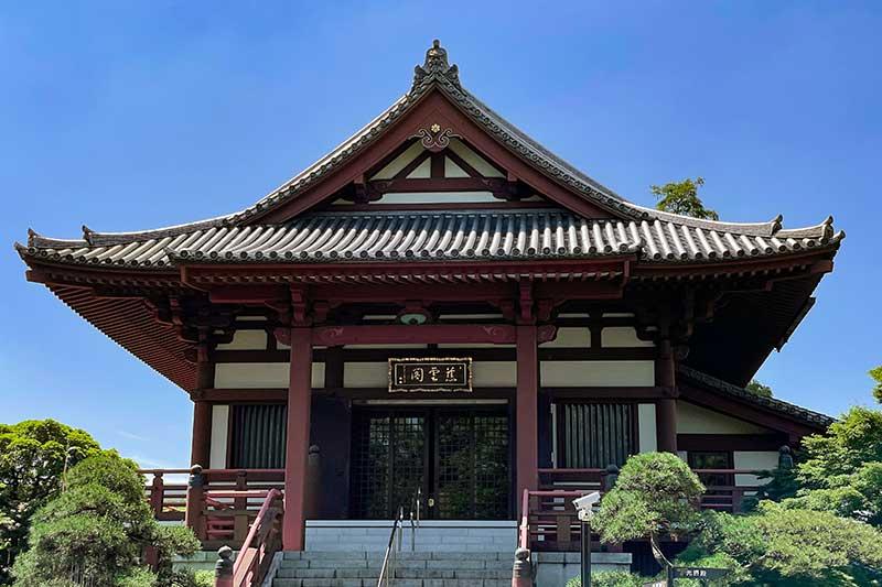慈雲閣(じうんかく)(開山堂)